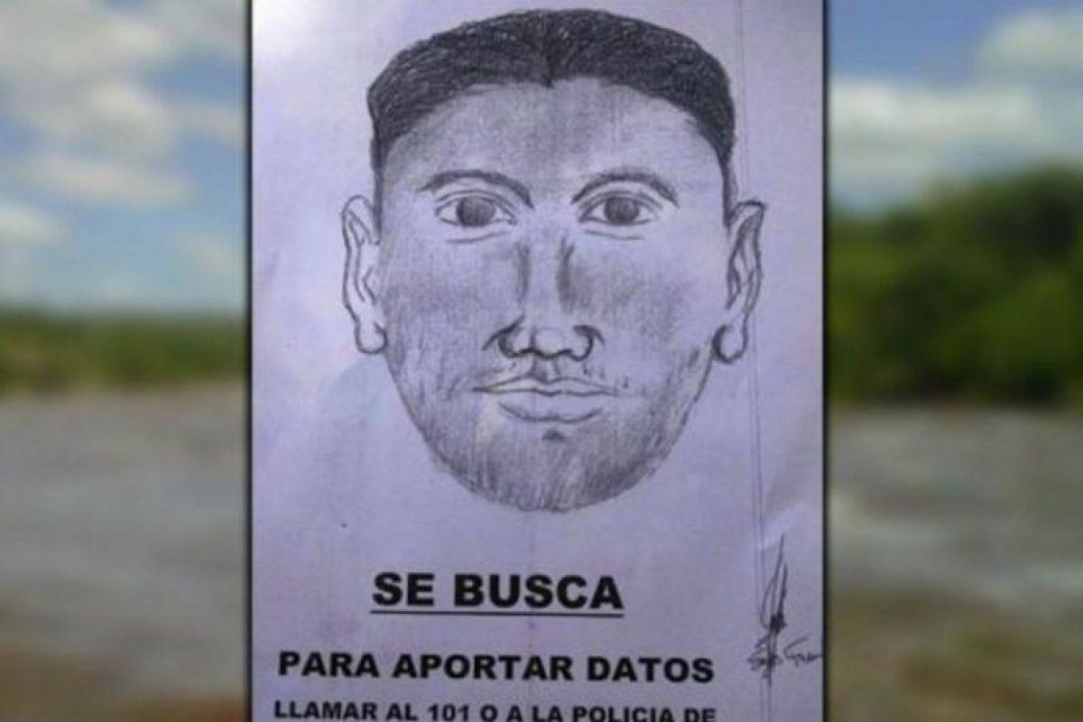 Este es el retrato hablado del hombre buscado por la autoridad trasandina. Foto:Reproducción / lavoz.com.ar. Imagen Por: