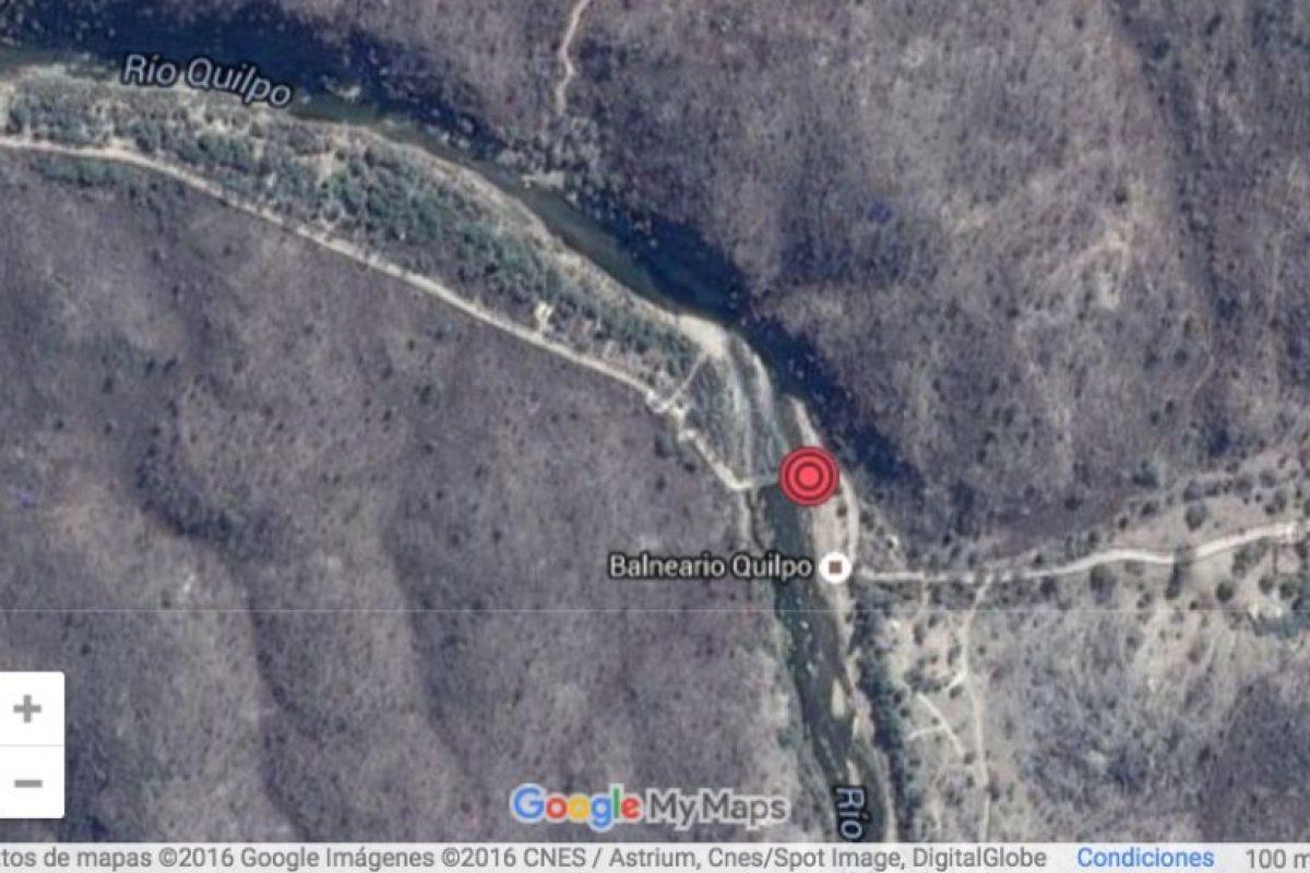 El mapa del lugar del hecho. Foto:Reproducción / Google Earth. Imagen Por: