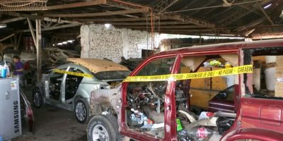 GPS de camión robado permite a Carabineros localizar desarmaduría clandestina