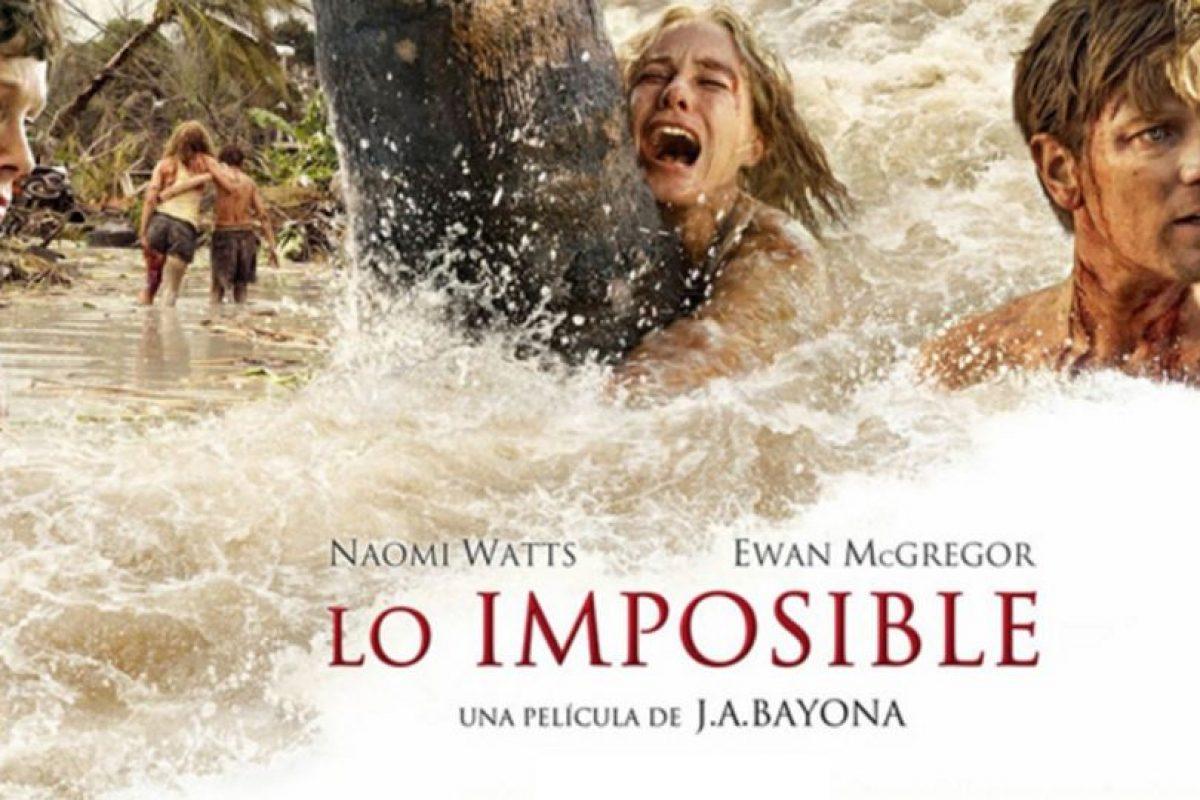 """4- """"Lo imposible"""". Foto:vía Netflix. Imagen Por:"""