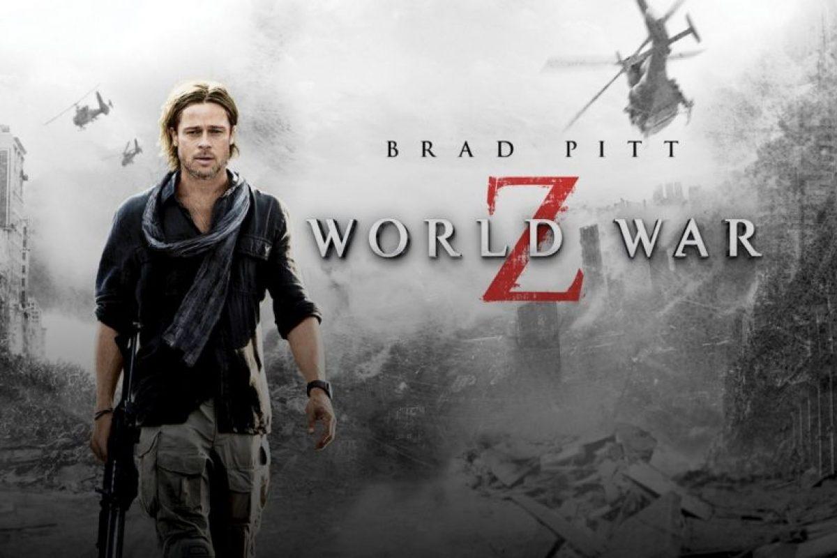 Un empleado de la ONU pelea contra el tiempo y el destino mientras viaja por le mundo intentando frenar un pandemia mortal de zombis. Foto:vía Netflix. Imagen Por: