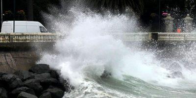 Marejadas de alta intensidad se registran este sábado en el litoral central