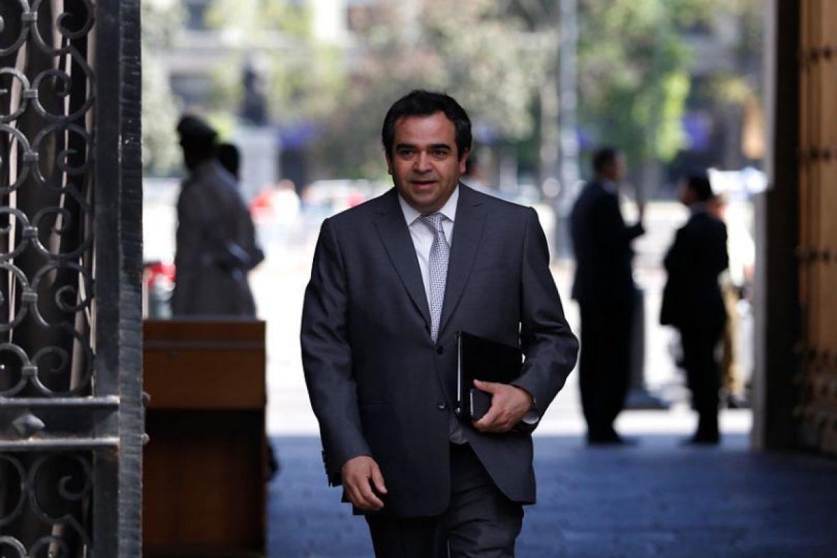 Jaime Quintana, presidente del PPD Foto:Agencia Uno. Imagen Por:
