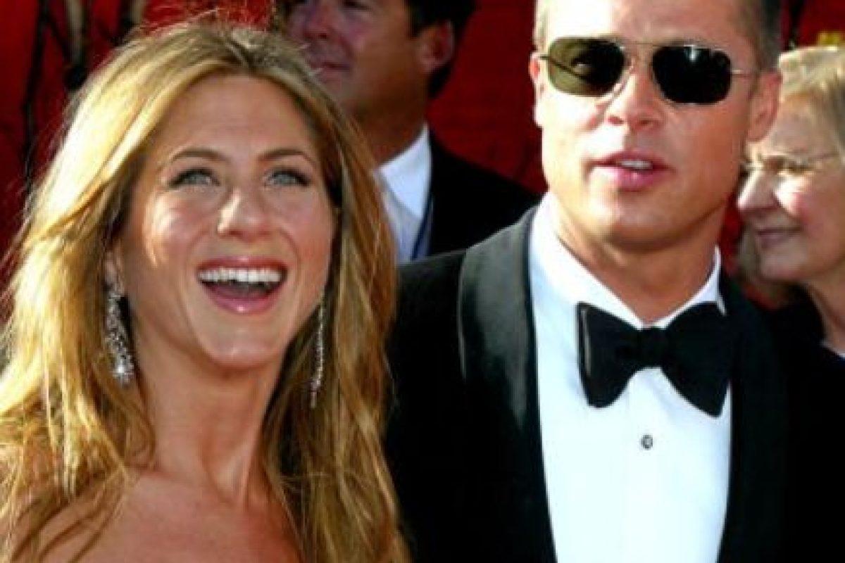 La separación de Jennifer Aniston y Brad Pitt fue uno de los grandes escándalos de Hollywood en la década pasada. Foto:vía Getty Images. Imagen Por: