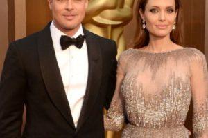 Brad siguió feliz con Angie. Foto:vía Getty Images. Imagen Por: