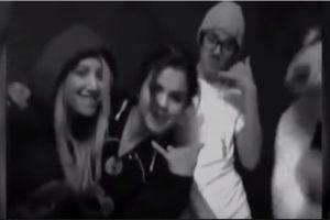 """7. Cuando se viralizó un video de Selena Gómez, Ashley Tisdale y Justin Bieber cantando """"Call Me Maybe"""" Foto:Twitter. Imagen Por:"""