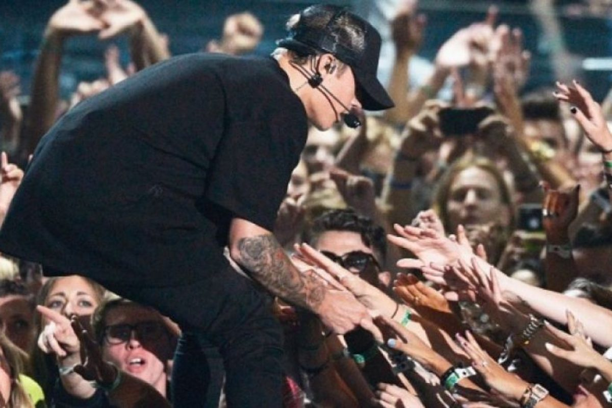 """""""La última vez que estuve en los VMA's me abuchearon"""", aseguró en el programa de Jimmy Fallon Foto:Getty Images. Imagen Por:"""