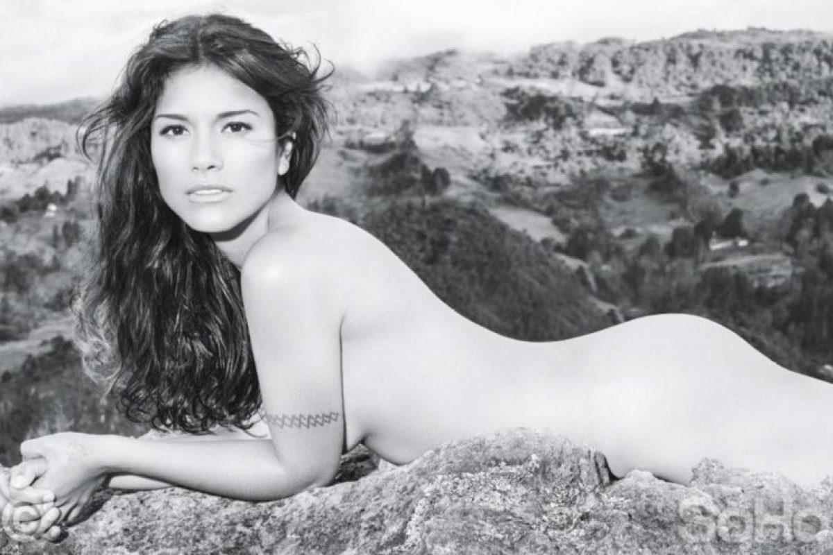 Ana posó para la edición colombiana de la revista SoHo. Foto:Vía soho.com.co. Imagen Por: