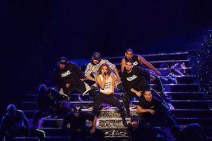 """Así lució JLO en la inauguración de su espectáculo """"All I Have"""" Foto:Instagram.com/JLo. Imagen Por:"""