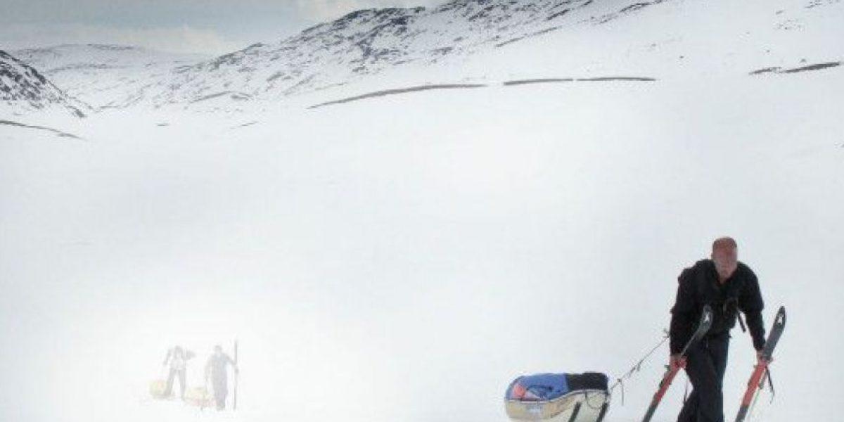 Murió el británico que trataba de cruzar la Antártida solo y a pie
