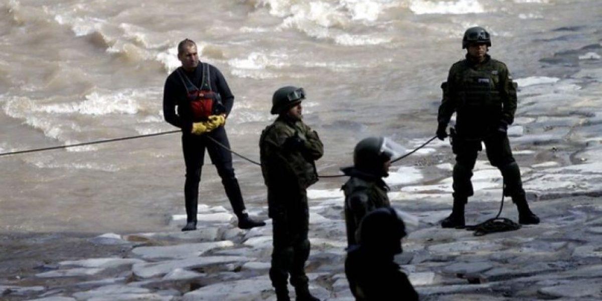 Sujeto muere ahogado en el río Mapocho tras huir de Carabineros por robar tablet