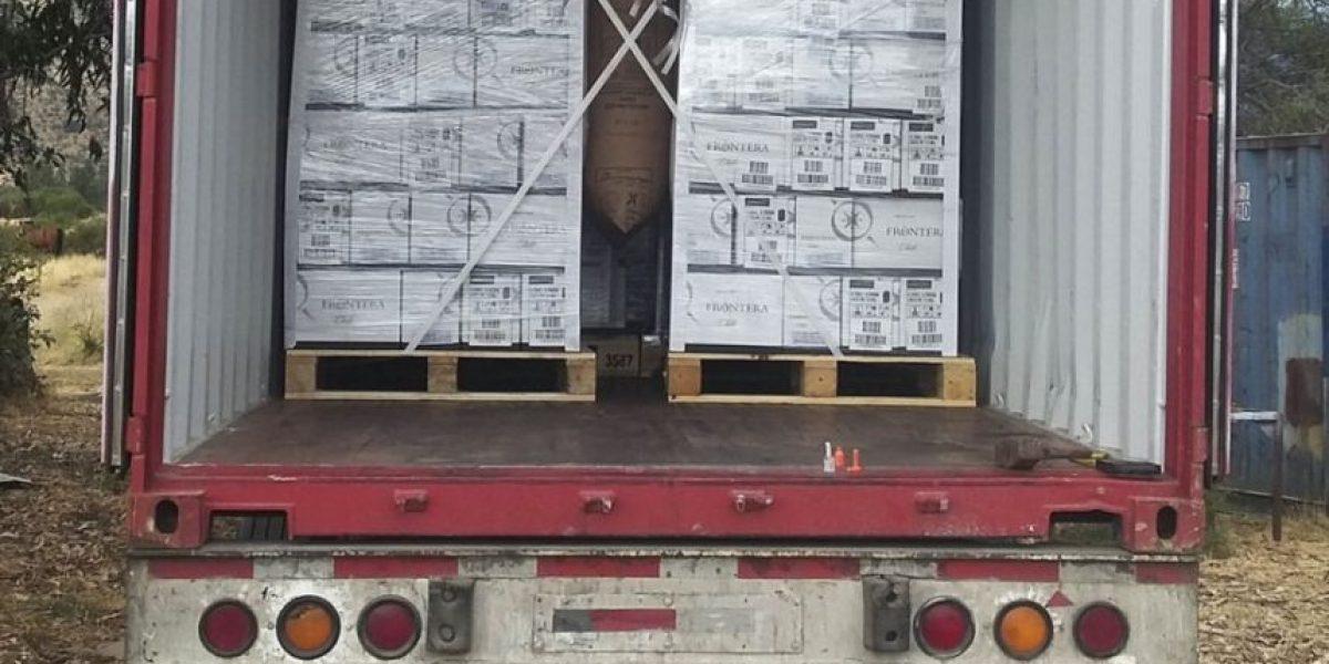 GPS delató a banda que robó camión que transportaba vinos de exportación