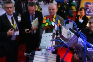 """El amor por el cubo de Rubik hizo que se creara un movimiento artístico llamado """"rubikcubismo"""". Foto:Getty Images. Imagen Por:"""
