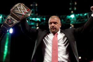 Triple H es el actual Campeón Mundial de Peso Pesado Foto:WWE. Imagen Por: