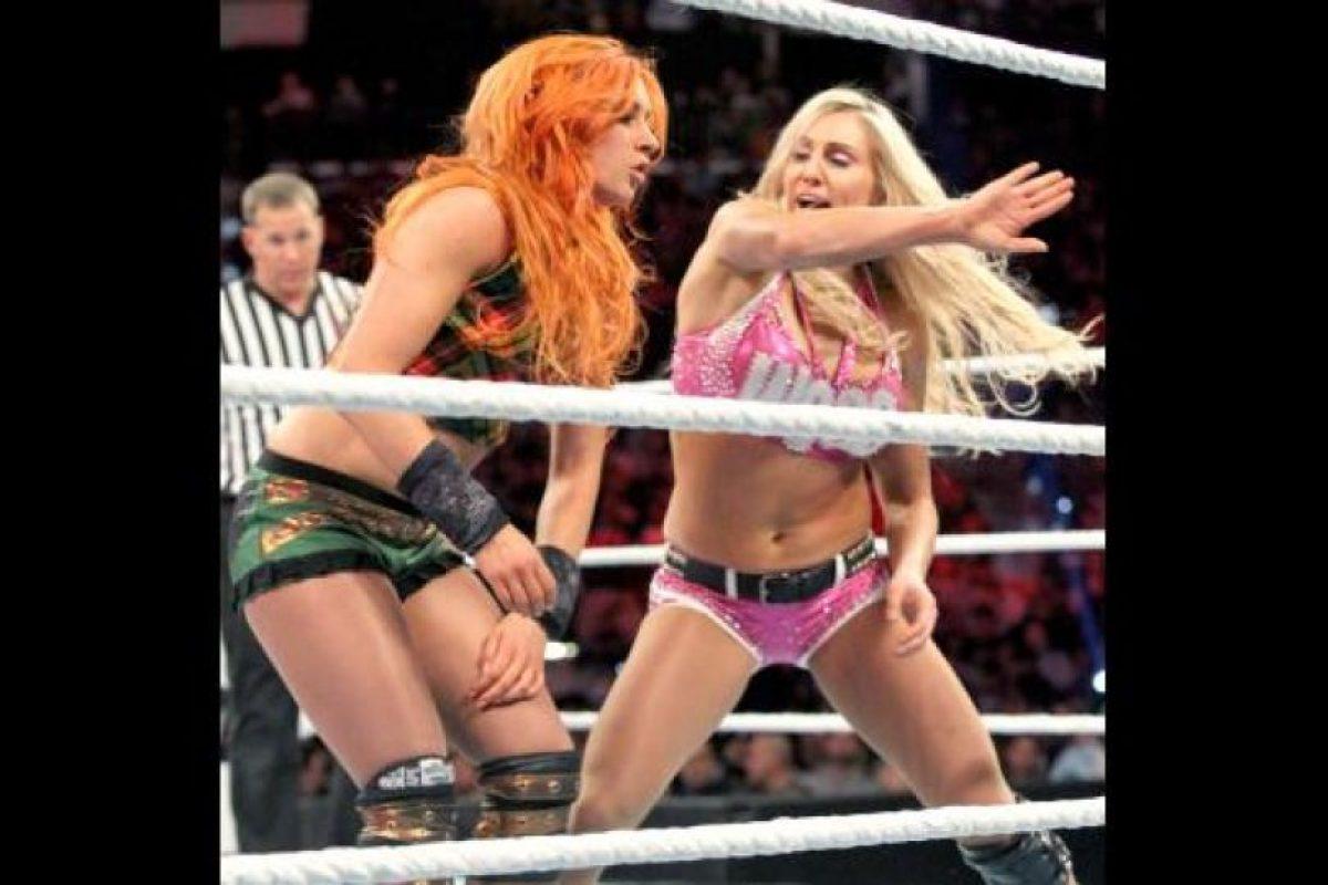 La Campeona de las Divas Foto:WWE. Imagen Por: