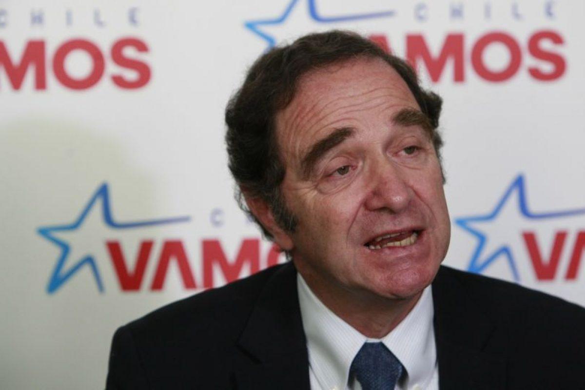 Hernán Larraín, presidente de la UDI. Foto:Archivo Agencia Uno. Imagen Por:
