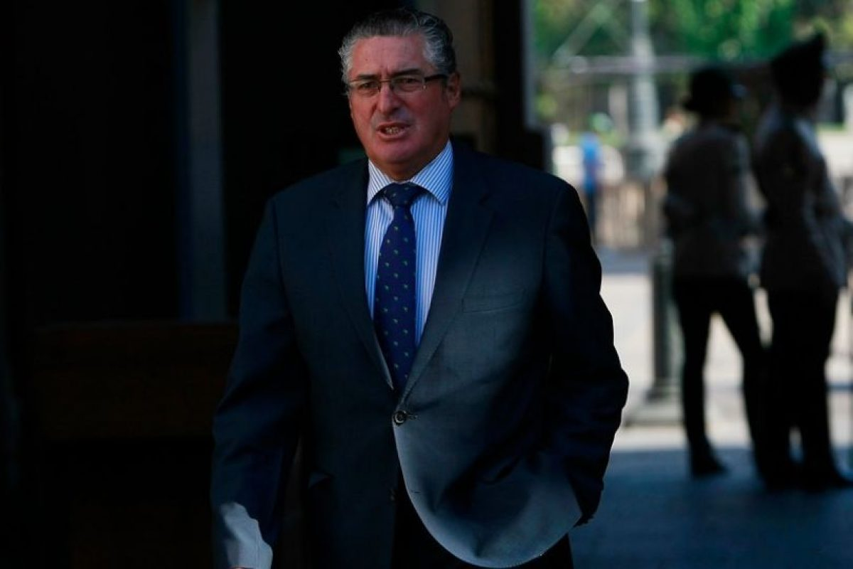 Jorge Pizarro, presidente de la DC Foto:Agencia Uno. Imagen Por:
