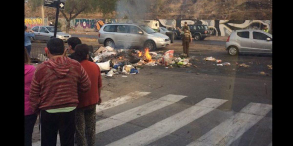 Pedro Aguirre Cerda: vecinos protestan tras 15 días sin que se retire la basura