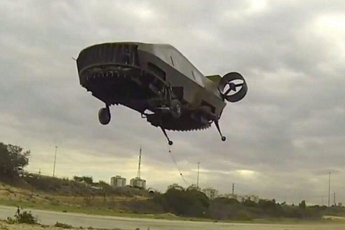 """""""AirMule"""" es capaz de transportar a dos personas. Foto:Vía tactical-robotics.com. Imagen Por:"""