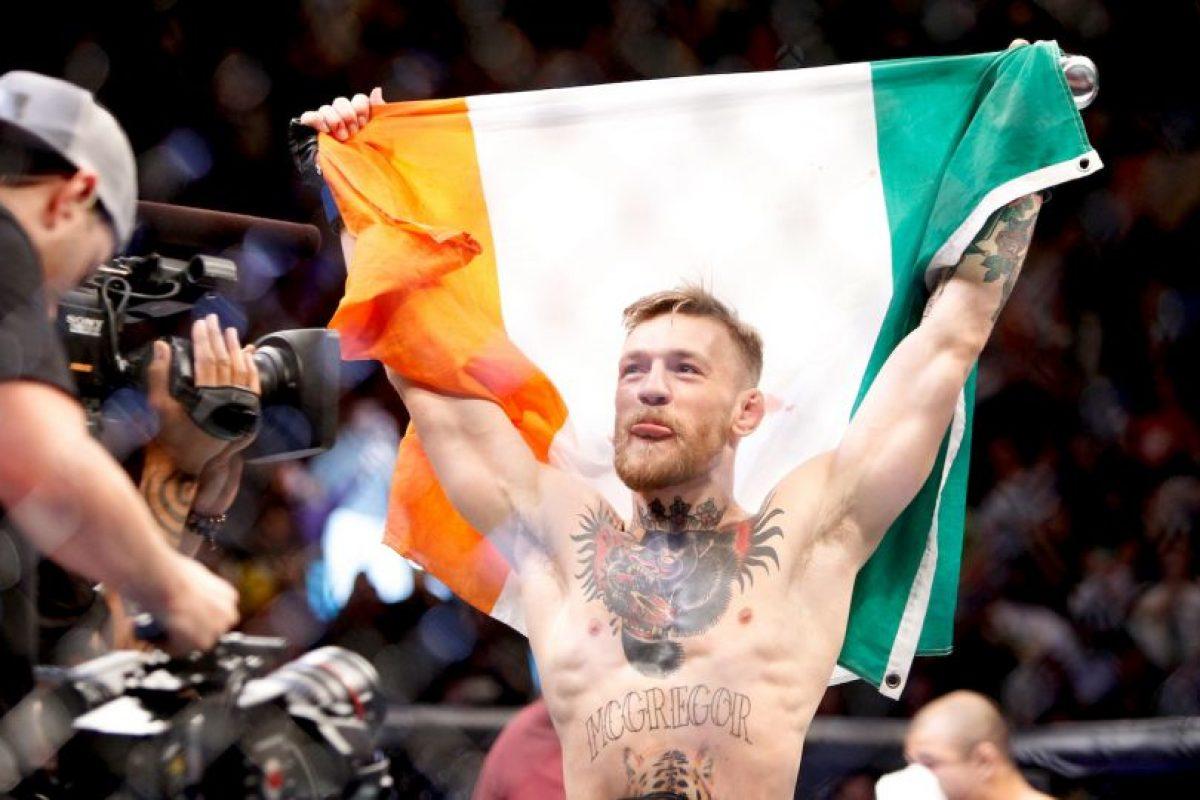 Conor es el actual campeón de Peso Pluma de la UFC Foto:Getty Images. Imagen Por: