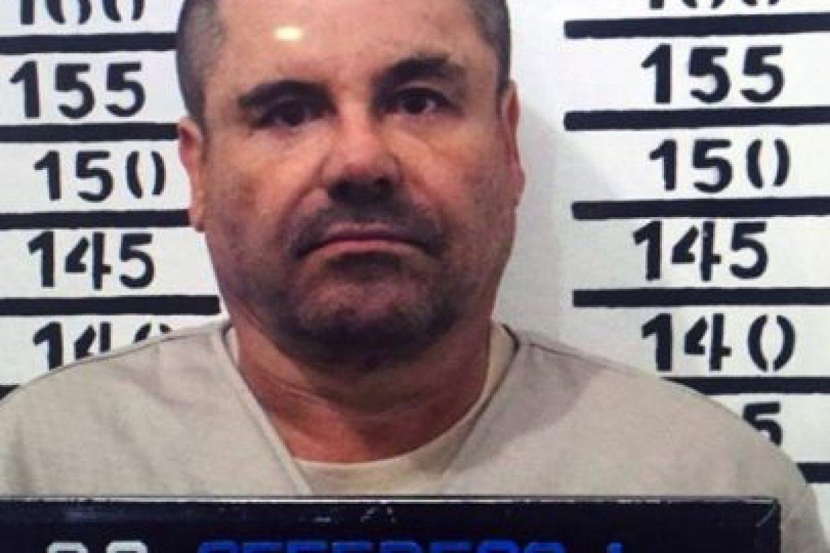 """Joaquín """"El Chapo"""" Guzmán fue recapturado por las autoridades mexicanas el pasado 8 de enero. Foto:AFP. Imagen Por:"""