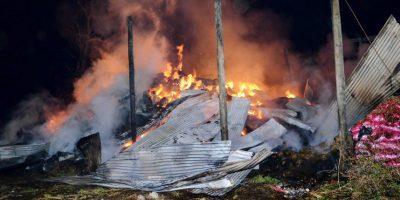 Coordinadora Arauco-Malleco reivindicó ataques incendiarios en Bío-Bío y Araucanía