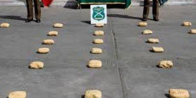 Arica: acción de Aduanas permitió incautar 208 kilos de droga en Complejo Chungará