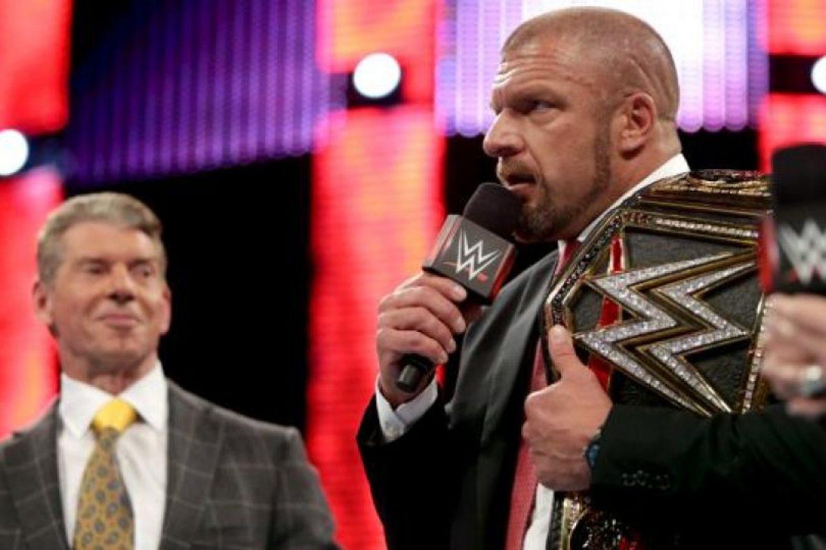 Triple H Foto:WWE. Imagen Por: