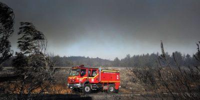 Onemi declara alerta roja en la comuna de Talagante por incendio forestal