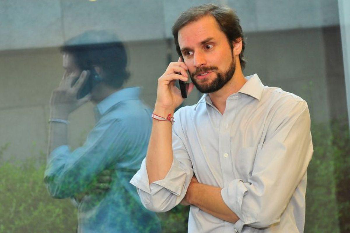 Jaime Bellolio Foto:Agencia UNO. Imagen Por: