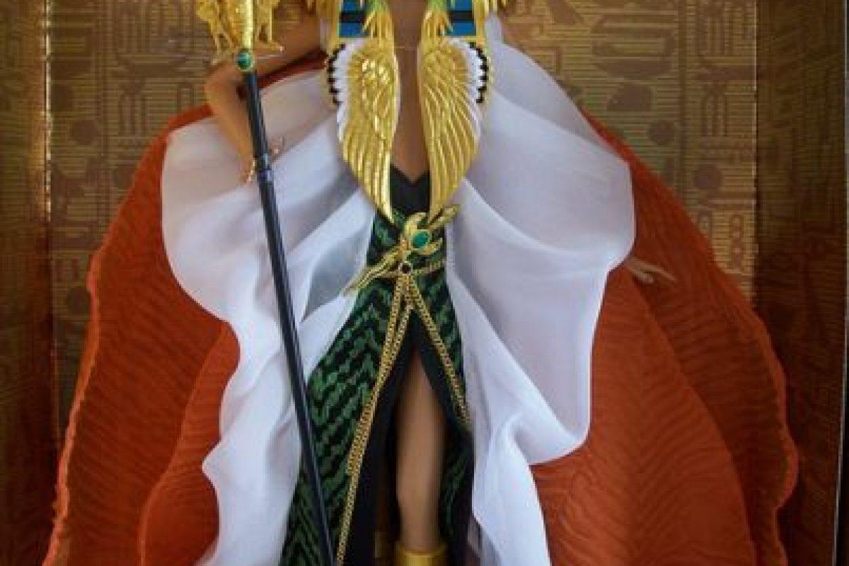 """La Barbie de la versión libre de """"Cleopatra"""" Foto:Mattel. Imagen Por:"""