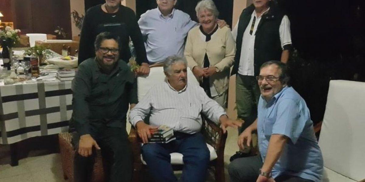 Mujica se reúne con las Farc en La Habana