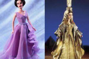 La Barbie de Elizabeth Taylor Foto:Mattel. Imagen Por: