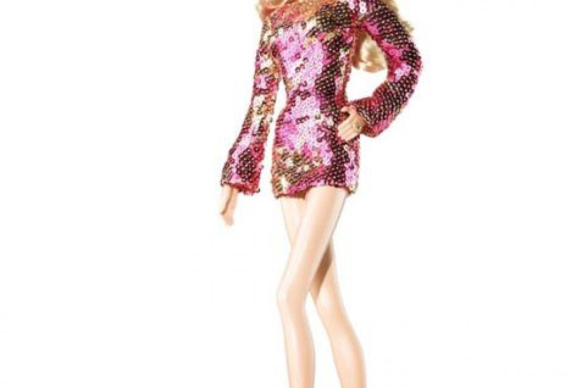 La Barbie de Heidi Klum, la modelo. Foto:Mattel. Imagen Por: