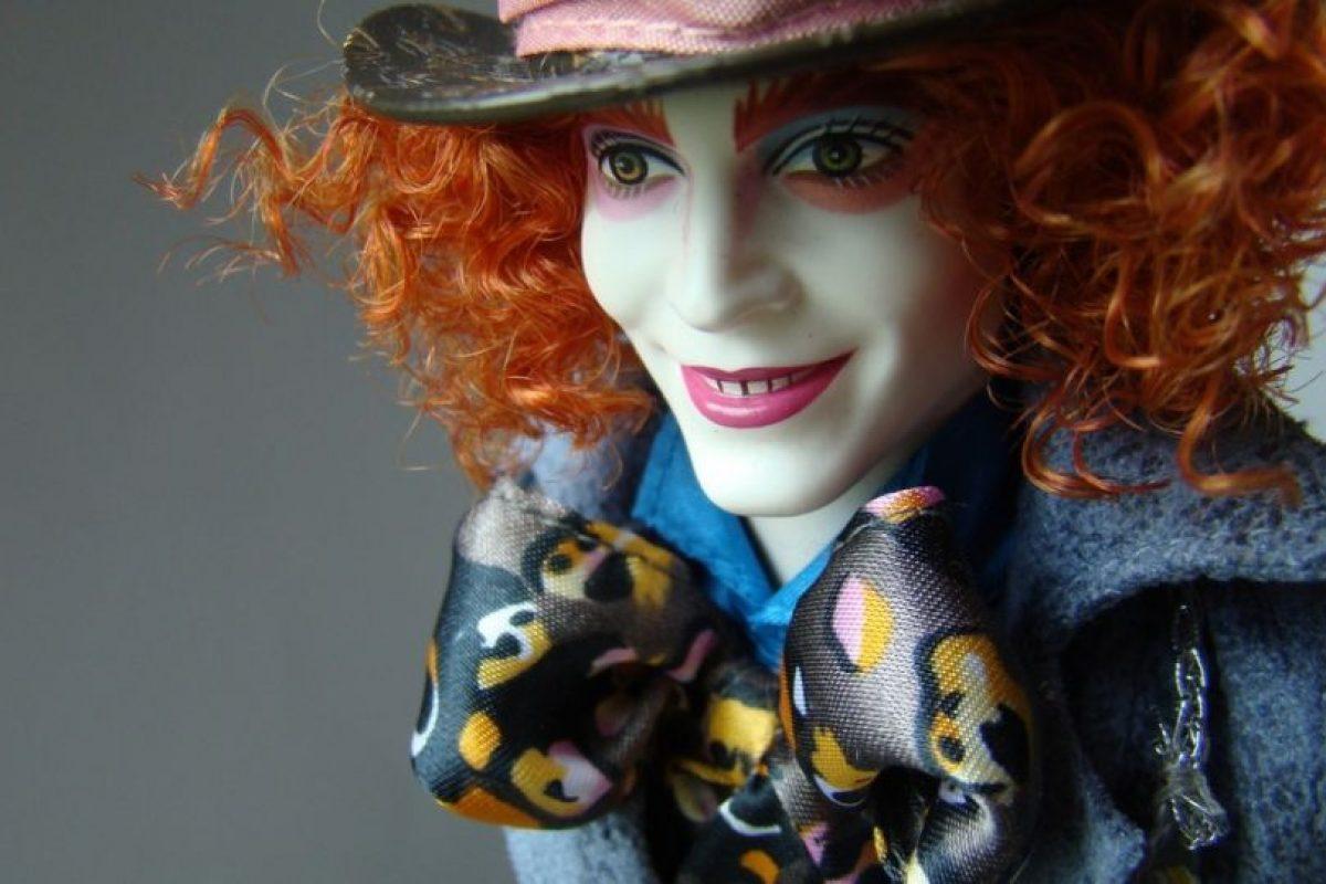 """El muñeco del Sombrerero en """"Alicia en el País de las Maravillas"""" Foto:Mattel. Imagen Por:"""