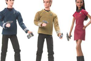 "Los muñecos inspirados en ""Star Trek"" Foto:Mattel. Imagen Por:"