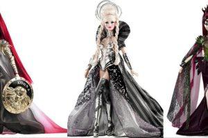 Las Barbies inspiradas en diosas griegas. Foto:Mattel. Imagen Por: