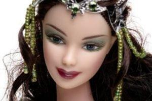 Un close up a Arwen, protagonista de la saga. Foto:Mattel. Imagen Por: