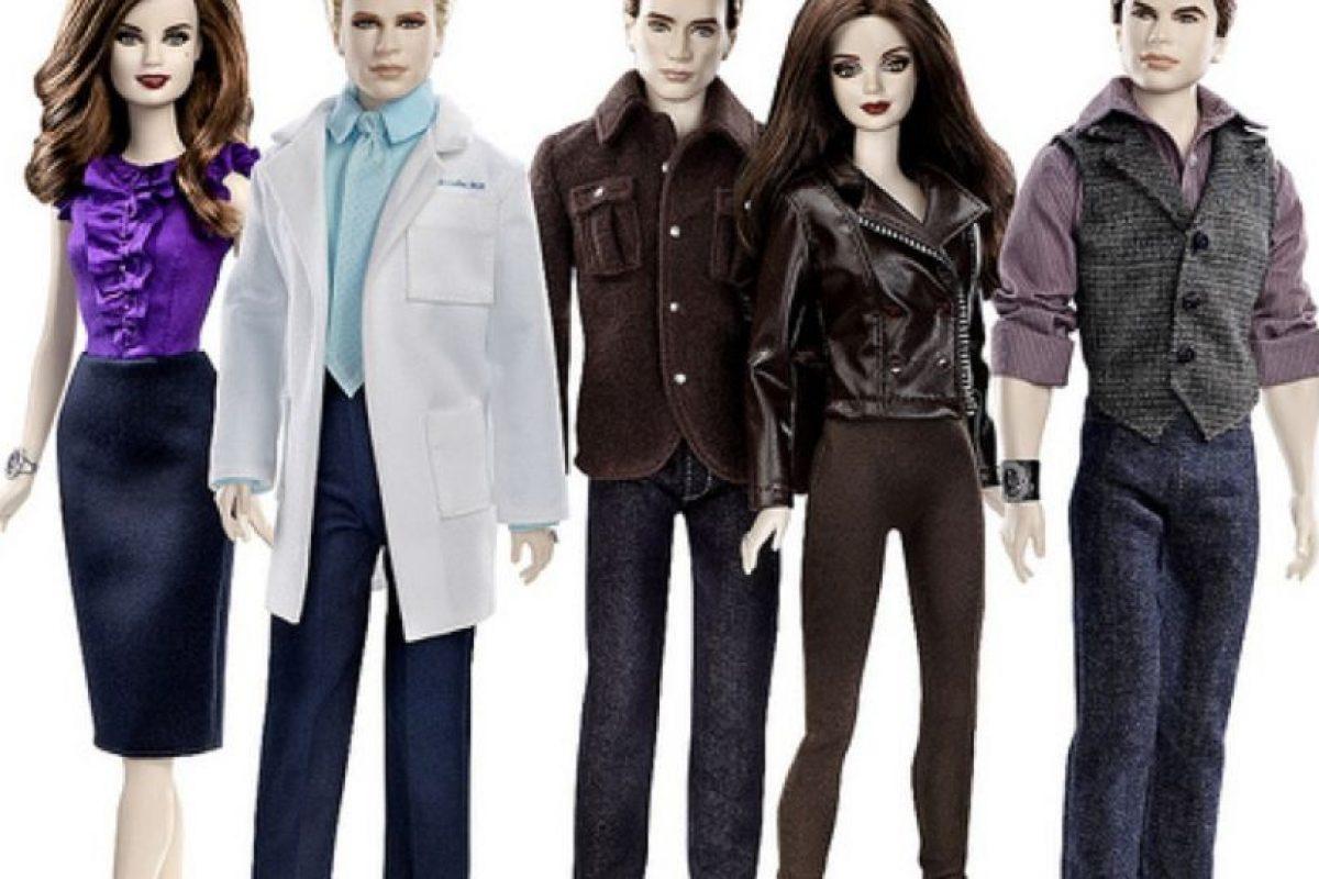 """Las Barbies inspiradas en """"Crepúsculo"""" Foto:Mattel. Imagen Por:"""