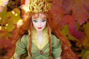La Barbie reina de las hadas. Foto:Mattel. Imagen Por: