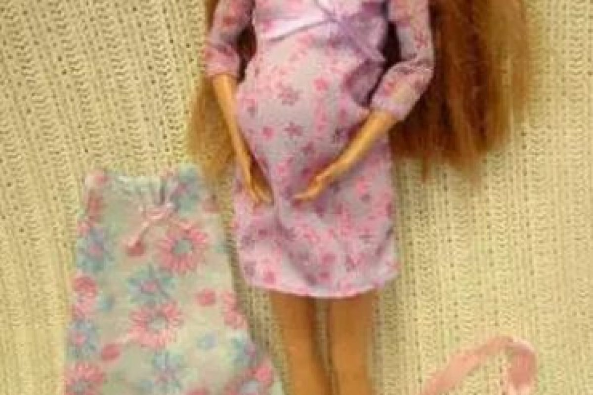 Embarazada Foto:Mattel. Imagen Por: