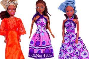 Queens of Africa fueron creadas por el nigeriano Taofick Ockoya, que no encontraba una Barbie negra para su hija. Foto:Queens of Africa. Imagen Por:
