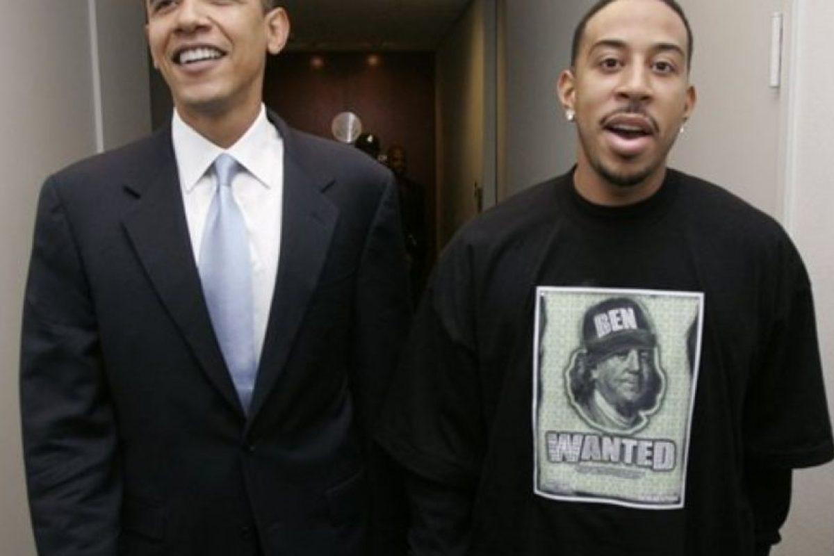 Christopher Brian Bridges, conocido popularmente como Ludacris. Foto:Vía Pinterest. Imagen Por: