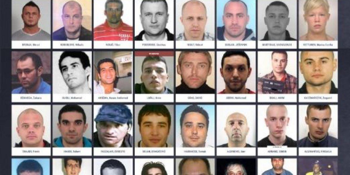 Europol lanza una web con los fugitivos más buscados de Europa para recabar pistas