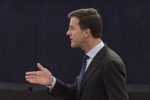 El primer ministro holandés, Mark Rutte Foto:EFE. Imagen Por: