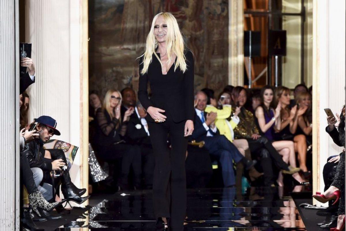 Donatella Versace después Foto:Getty Images. Imagen Por: