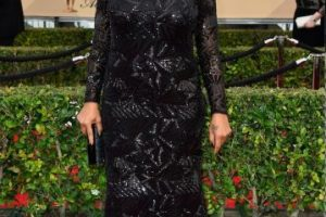 """Ganó el premio de """"Mejor interpretación femenina en una miniserie o telefilme"""" Foto:Getty Images. Imagen Por:"""