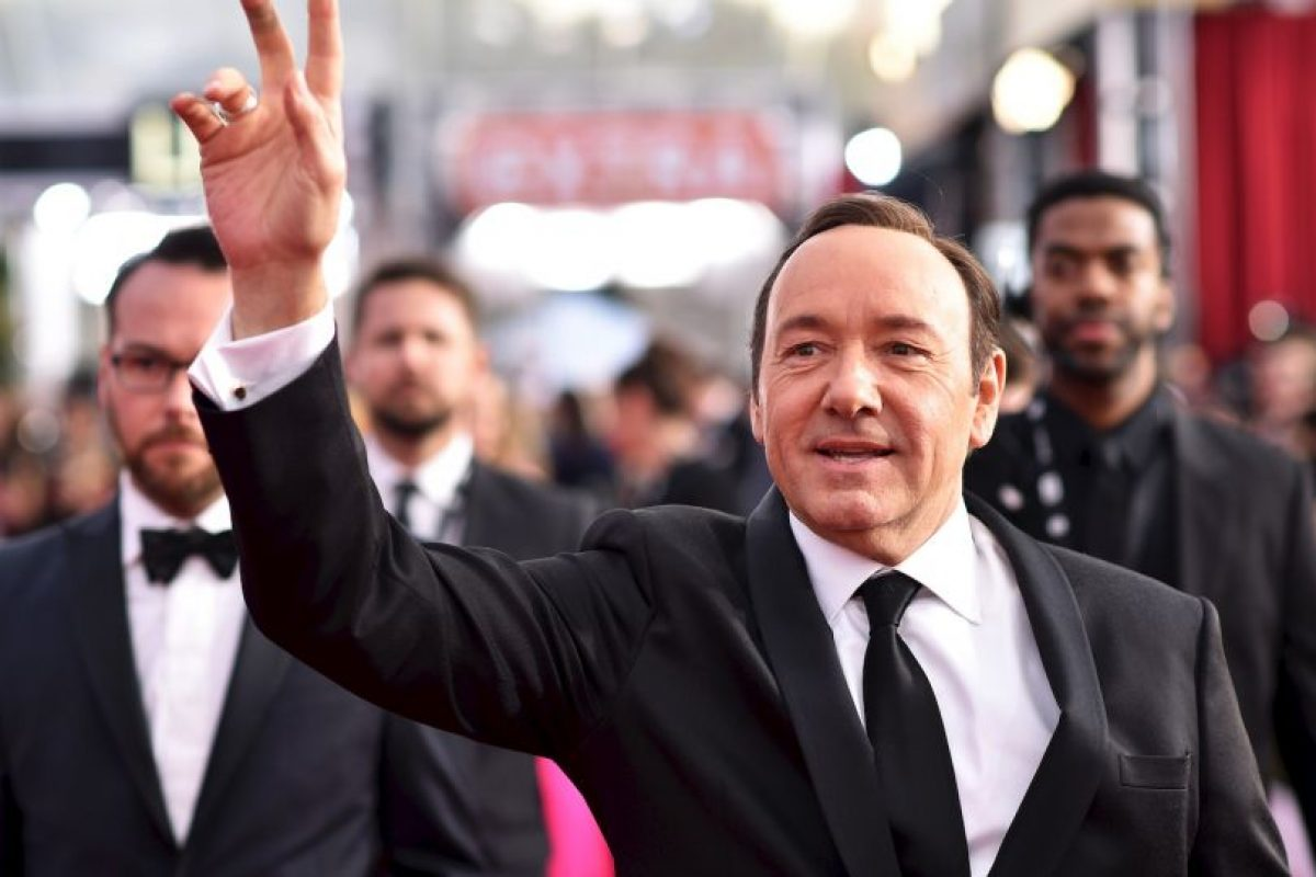 Kevin Spacey — House of Cards; como Francis Underwood Foto:Getty Images. Imagen Por: