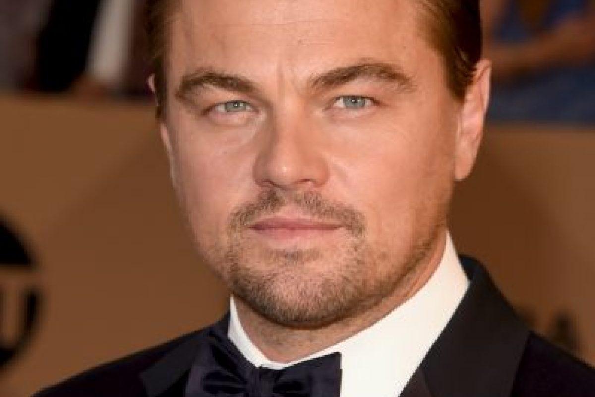 Leonardo DiCaprio — El renacido; como Hugh Glass. Foto:Getty Images. Imagen Por: