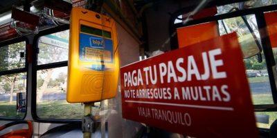 Plan antievasión en Transantiago ha cursado más de 2.000 infracciones